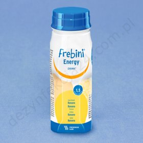 Frebini Energy Drink Banan 200 ml (op. 4 szt.)