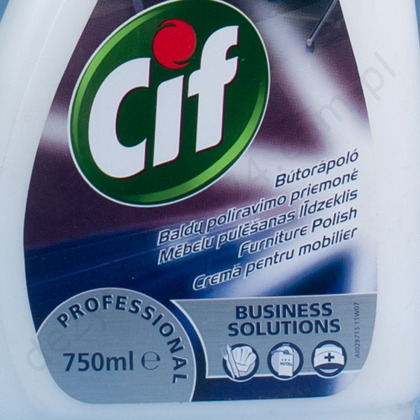 Cif Furniture Polish 750 ml.