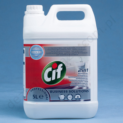 Cif Professional Washroom Cleaner  2w1 - kanister 5 L.